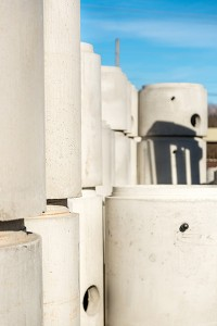 Concrete Precast Manholes Constructed by Columbia Precast Products