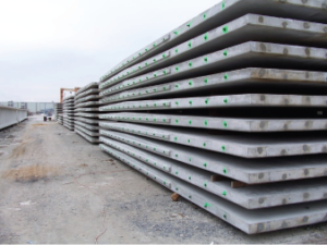 Precast panel vaults from Columbia Precast Products