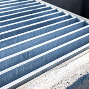 Precast concrete drainage inlets from Columbia Precast Products