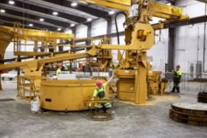 Columbia Precast Products making custom pieces